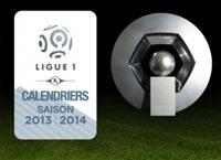 Nouveau calendrier ligue-1 2013