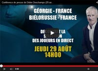 liste equipe de france georgie streaming