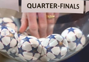 Tirage quart de finale Ligue Champions