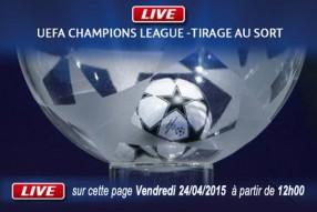 Tirage demi finale Ligue des Champions