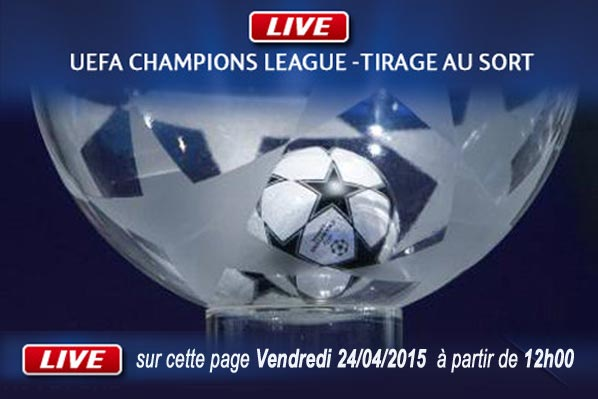 Tirage demi-finale Champions League