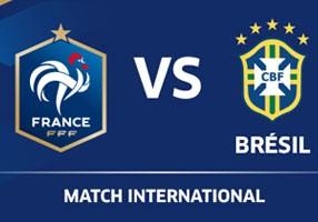 La liste de France-Brési