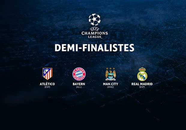 Tirage au sort demi-finale Champions League 2016