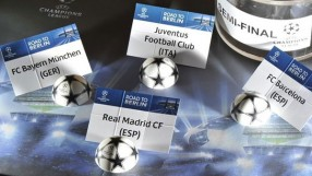tirage demi finale Champions League