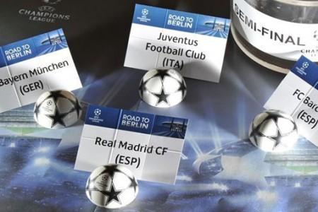 Tirage demi-finale Champions League