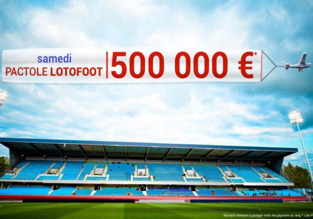 Loto foot : Pactole 500.000€