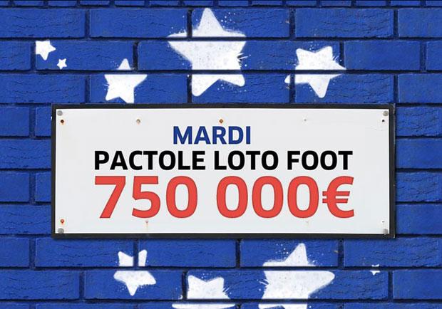 Loto foot pactole 750.000 €