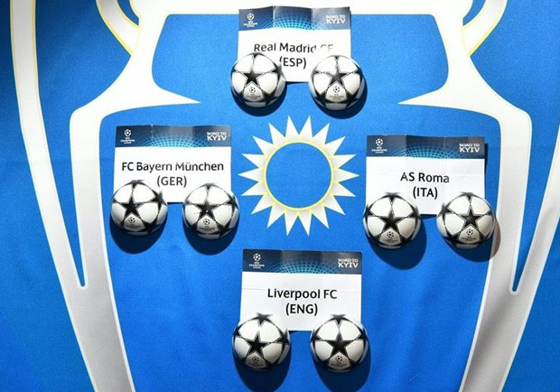 Tirage au sort demi-finale  Champions League