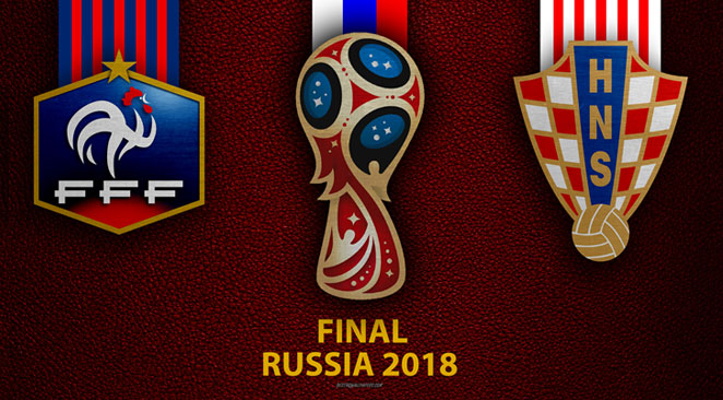 Pronostic France - Croatie 2018