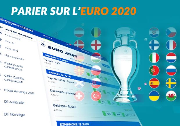 type de pari sur l'Euro 2020
